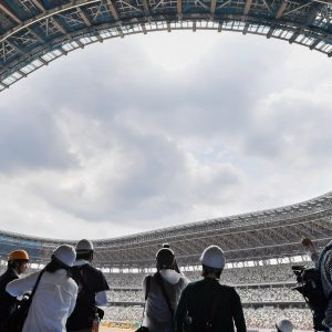 Tokyo Olympic staduim