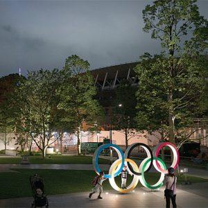 External shot Olympic stadium Olympic Stadium Tokyo