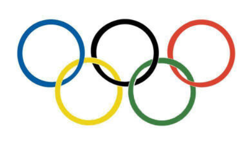 Official Olympic Rings property of IOC