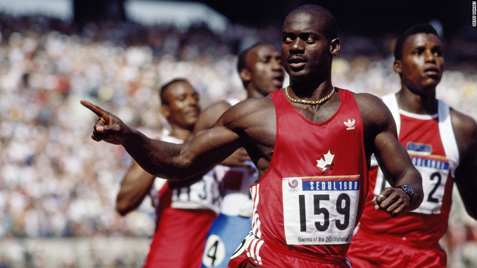 Ben Johnson Doping Case