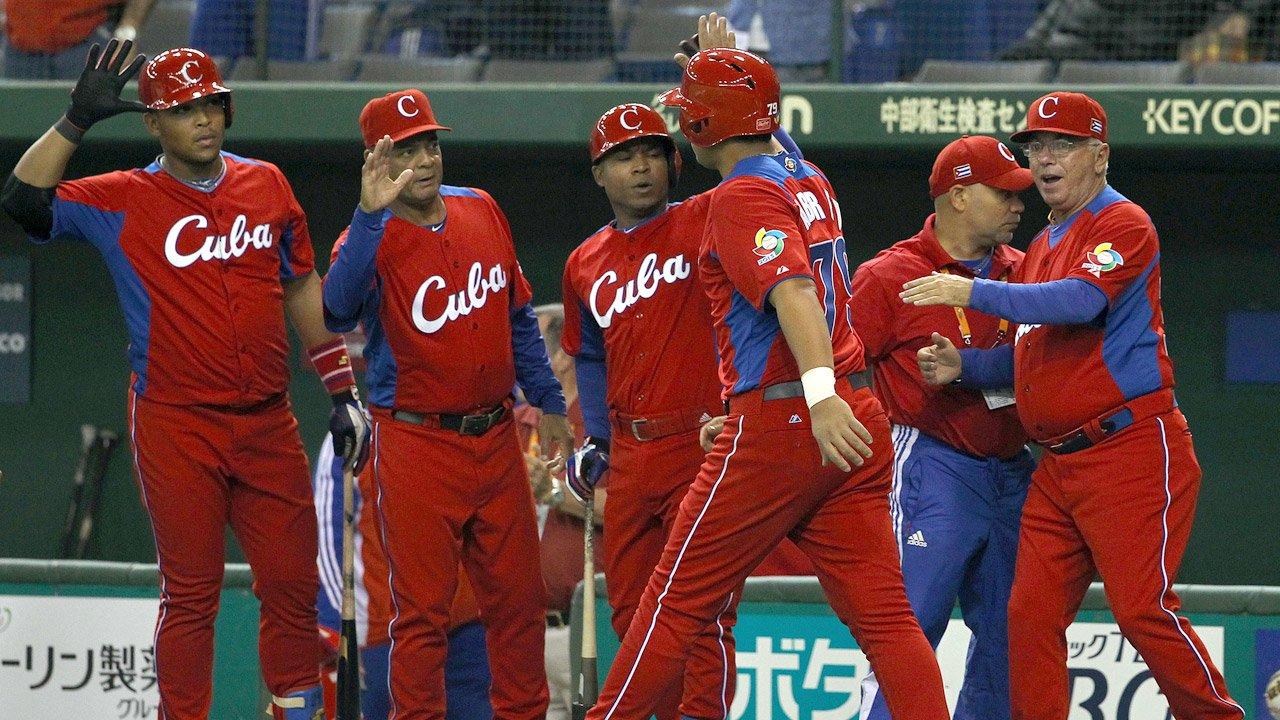 Cuba Baseball Team