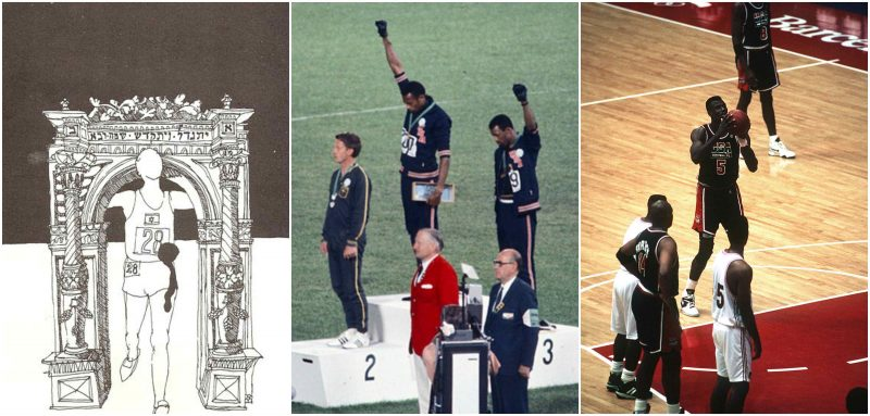 Historical moments at the Olympics