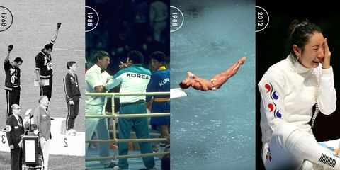 The Olympic incident that sparked the debate