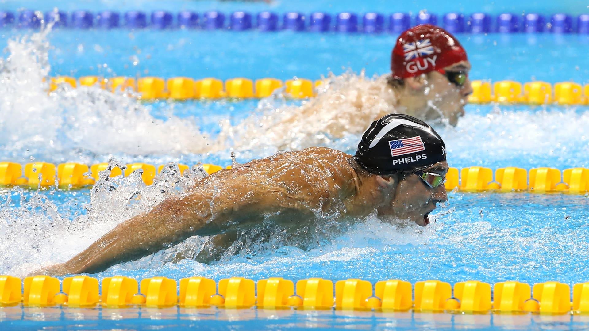 Swimming Olympics Event