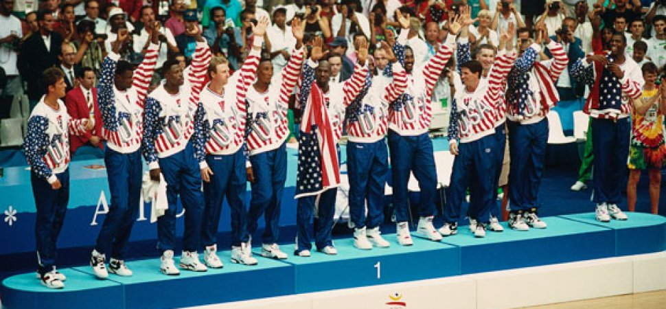 USA Dream Team Gold Medal